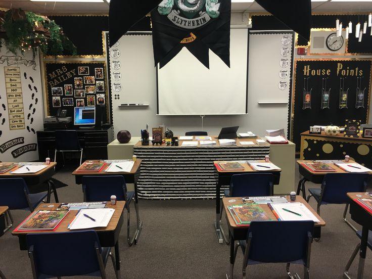 Harry Potter Classroom Decorations ~ Harry potter classroom themed