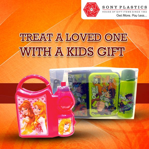 Treat a loved one with a kids ‪#‎gift‬ Visit http://www.sonyplastics.com/ for bulk inquiries