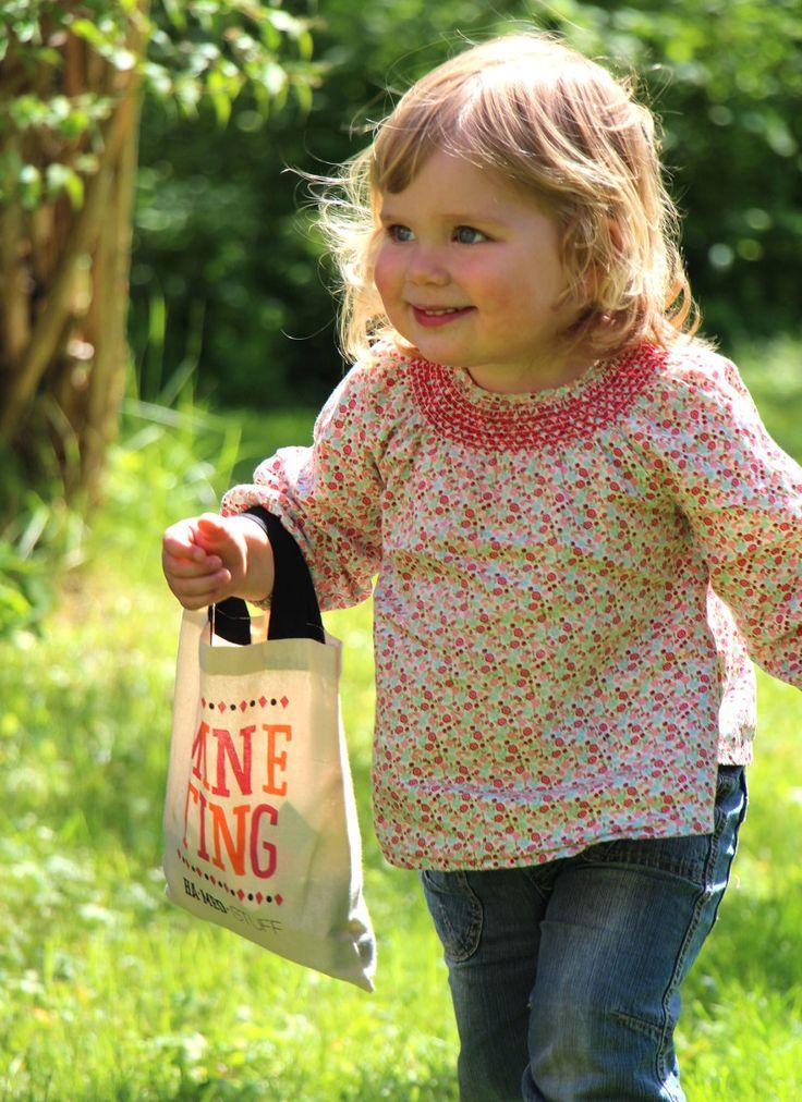 STUFFbæg, Mine ting #organic #økologisk #totebag #child