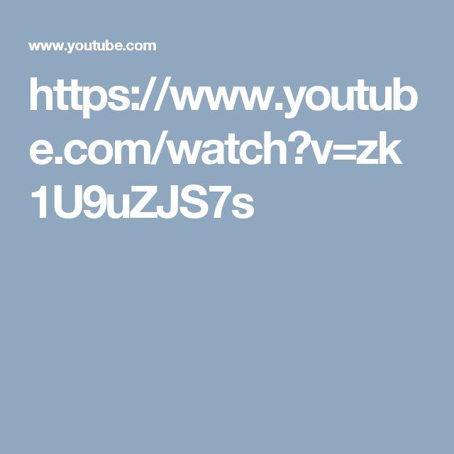 https://www.youtube.com/watch?v=zk1U9uZJS7s