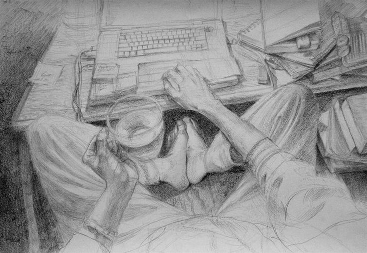 Clara Lieu, Student Artwork, Wellesley College, Life Drawing course, Figure Draw… – HS Art Narrative drawings College level