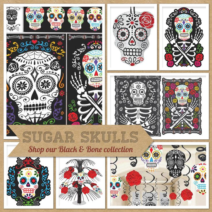 Party Trends: Sugar Skull Decoration Ideas