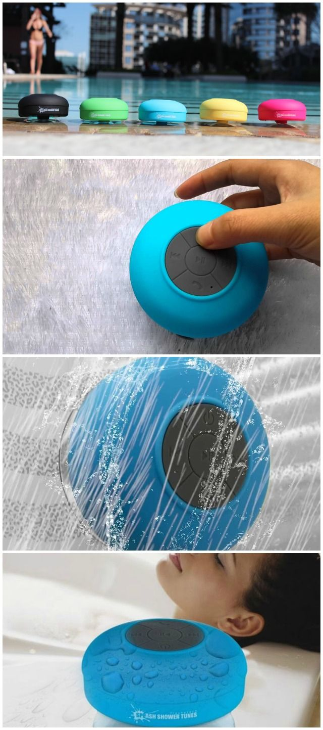 Did you ever wish you could listen to you favorite tunes while showering and still be able to control all the functions without having to step out of the shower? d'autres gadgets ici : http://amzn.to/2kWxdPn