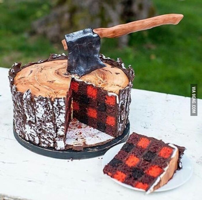 My birthday cake design for fall. What do you think? - 9GAG