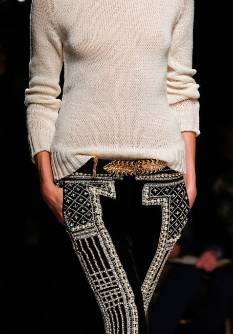 ~: Balmain Fall, Balmain Pant, Fashion, Inspiration, Style, Clothes, Pants, Fall 2012, Wear