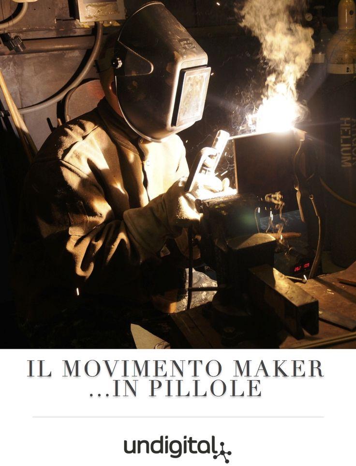 """""""Oggi, con gli strumenti disponibili nei makerspace, chiunque può cambiare il mondo"""" Mark Hatch, The Maker Movement Manifesto …"""