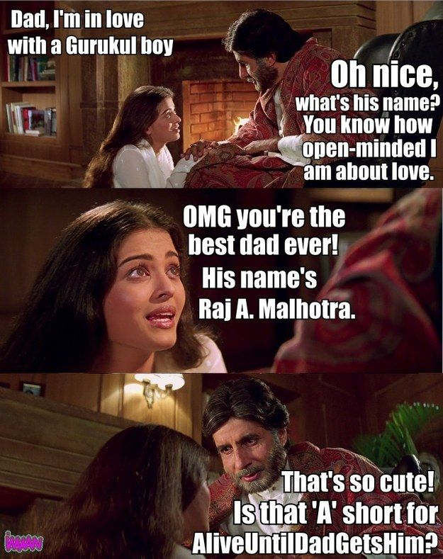 """Here Is An Accurate And Honest Summary Of Bollywood Classic """"Mohabbatein"""""""