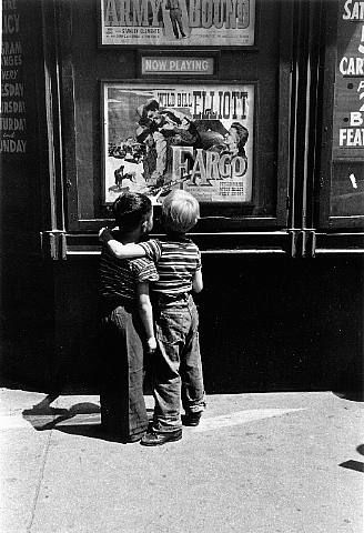 bliss blog - wee wednesday with lindsay of darling clementine: childhood// boys on second ave by louis stettner