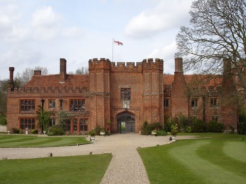 Leez Priory near Chelmsford Essex UK where we got married. What a gorgeous venue! I'd take all the rooms in this place!