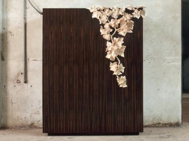 Wooden highboard with doors LF 02 LF Collection by Atelier MO.BA. | design Luca Bazzi