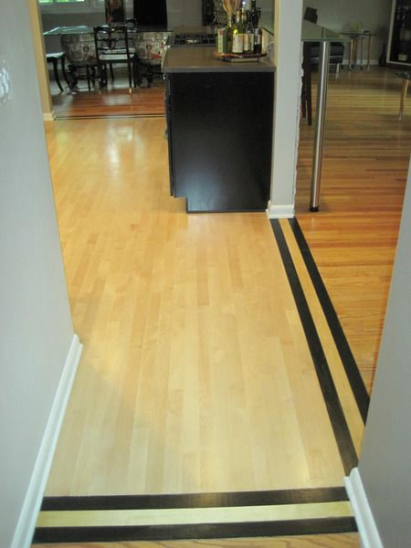 855 best surrey downs remodel images on pinterest for Different flooring throughout house