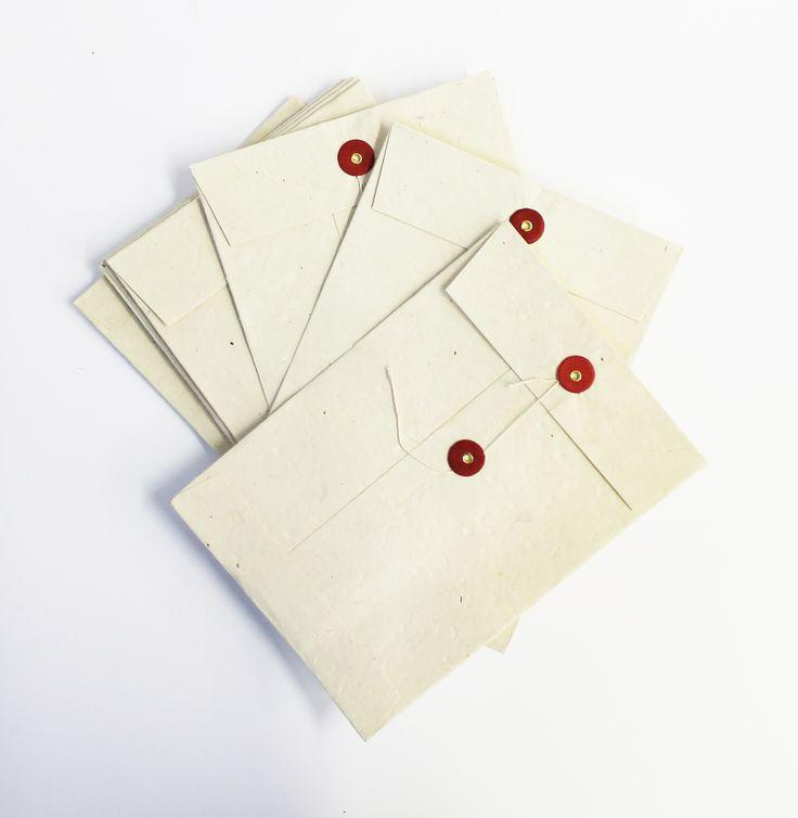 Sobres con cierres especiales - Pepa Paper