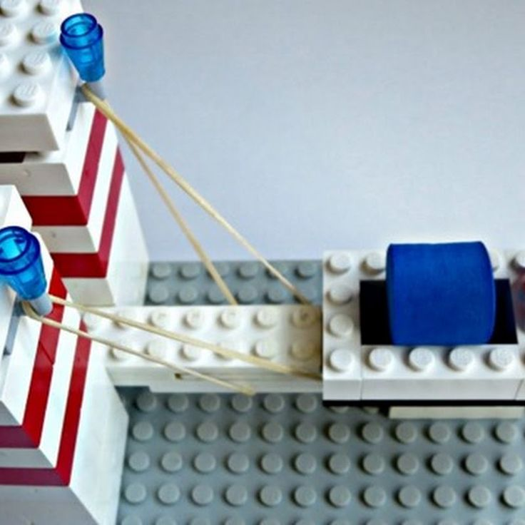 how to make a lego catapult instructions