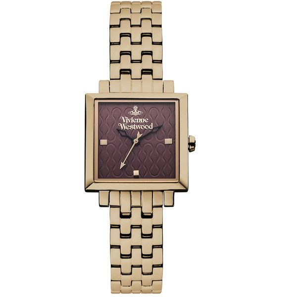 Vivienne Westwood Exhibitor Watch (19.565 RUB) ❤ liked on Polyvore featuring jewelry, watches, vivienne westwood, stainless steel jewellery, stainless steel jewelry, stainless steel watches and vivienne westwood watches