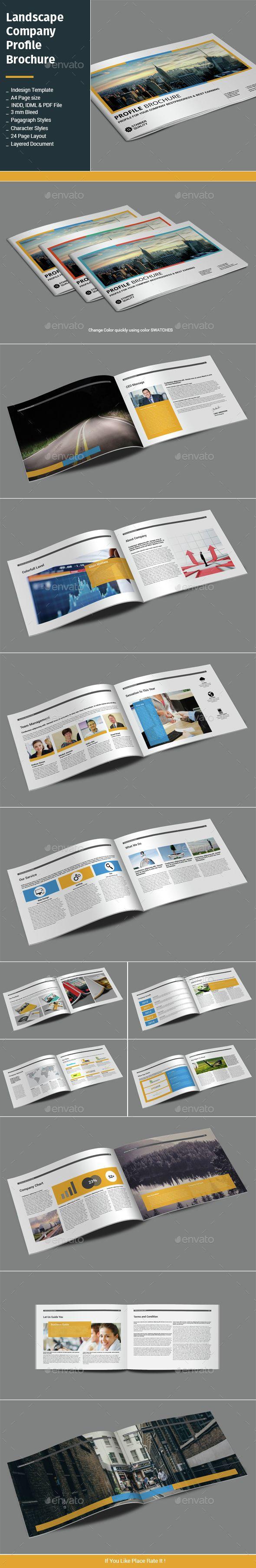 Landscape Company Profile Brochure