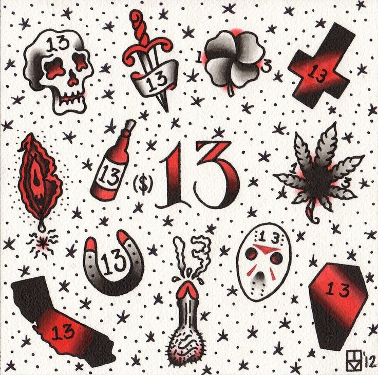 13 dollar tattoos on friday the 13th - http://hdwallpaper.info/13-dollar-tattoos-on-friday-the-13th/  HD Wallpapers