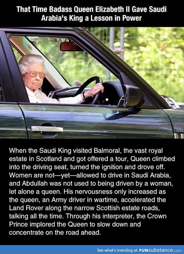 Royal ass >>> Reason 58319463067 why the Queen of England is the baddest, sassiest woman to have ever walked the planet.