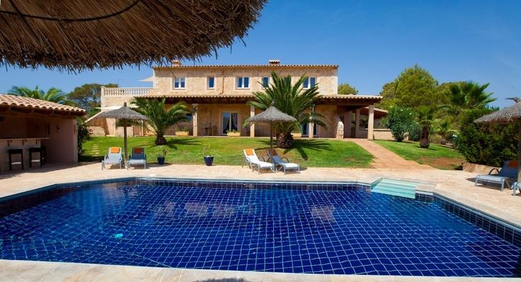 Traumhafte Finca auf Mallorca in Cas Concos mit Meerblick
