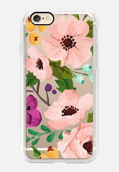 Casetify iPhone 7 Case and Other iPhone Covers - Fancy Floral 3 by Jande Laulu   #Casetify