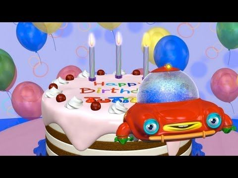TuTiTu Happy Birthday Cake
