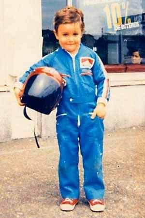 Fernando Alonso niño