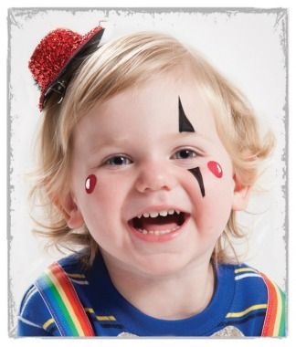 Easy Face Painting Ideas from Parenting.com will get you ready to Face Paint.
