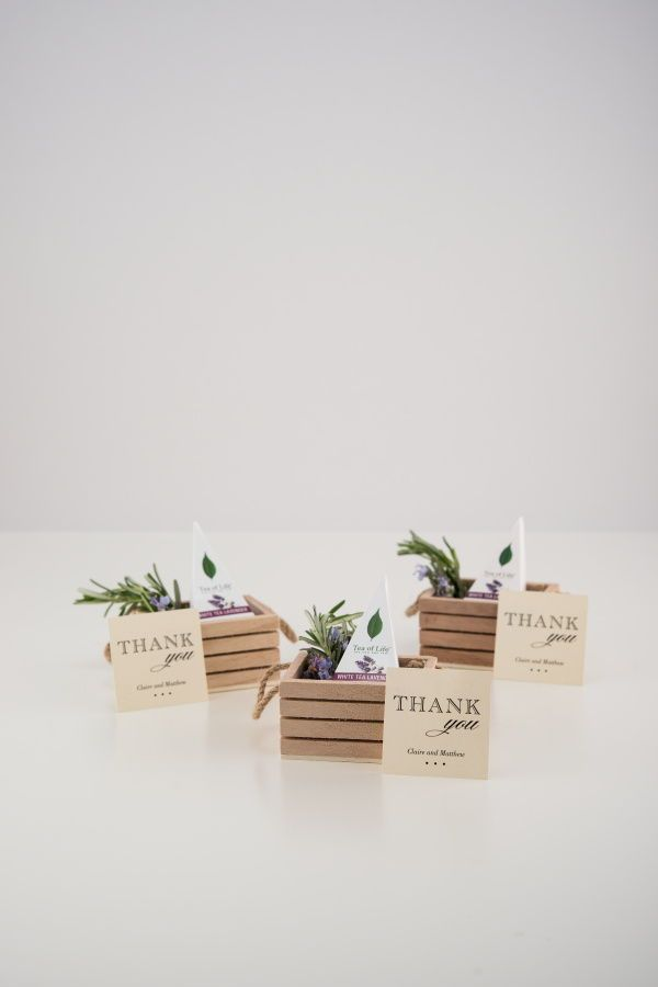 Mini Wooden Crate With Jute Handles Wedding Favors In 2019