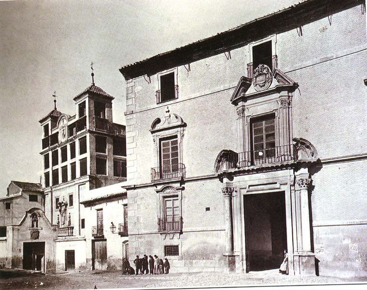 Palacio del Marques de los Velez DEStRUIDO Murcia: It was demolished in 1937 during the Second Spanish Republic. Since 1928 was the home for the female religious school of Sisters Jesús María. Before 1928 the ancient Baroque Palace was the Civil Government Headquarters in Murcia City for long time. The palace in Baroque style was erected on the mid Seventeenth century by the Marquis of Velez at the North corner of Santo Domingo Square, right between the convents of the Anas and Claras…
