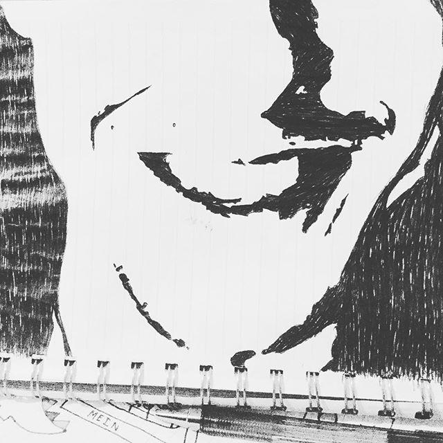 😃👍🏻 what a beautiful smile @theorossi #art #arts #artsy #artwork #artist #smile #smile😊 #smiles #illustrator #illustration #kunst #kunstwerk #sketch #sketchbook #theorossi #juiceortiz #shadesalvarez #draw #drawing #drawings #drawingoftheday #artofinstagram #artoftheday #instaart #instagood #instasmile #sonsofanarchy #lowriders #blackandwhite #blackart