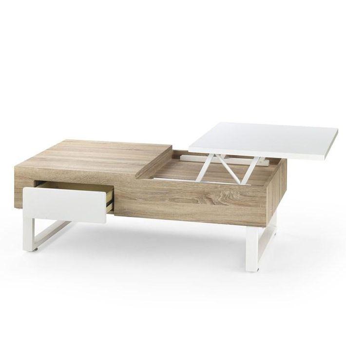 table basse relevable, www.so-inside.com http://www.so-inside.com/tables-basses-design-noir-et-blanc/1321-table-basse-plateau-relevable-tiroir-kansas.html?utm_campaign=Table%2Bbasse%2Bplateau%2Brelevable%2B%2B%2Btiroir%2BKansas&utm_medium=Comparateur%2Bde%2Bprix&utm_source=Achetez%2Bfacile&utm_term=Table%2Bbasse%2Bplateau%2Brelevable%2B%2B%2Btiroir%2BKansas#ectrans=1
