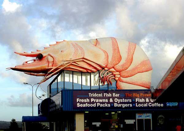 The Big Prawn, Ballina, NSW, Australia
