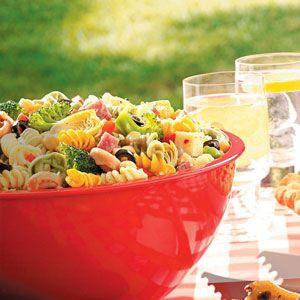Contest-Winning Picnic Pasta Salad Recipe from Taste of Home