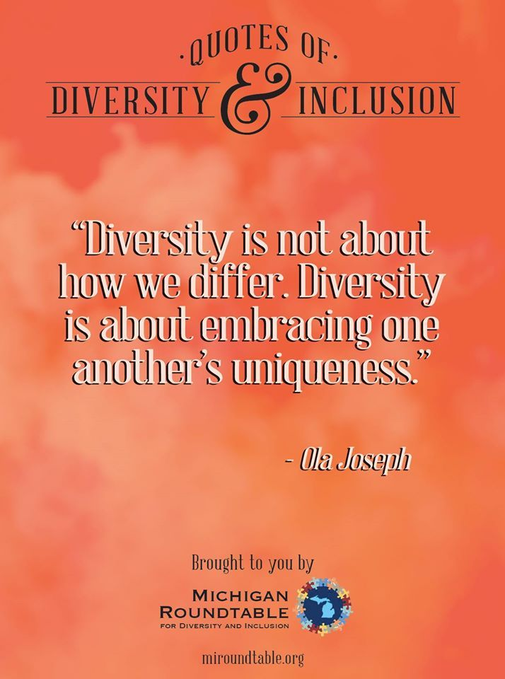 Diversity Quotes Brilliant 9 Best Quotes Of Diversity And Inclusion Images On Pinterest . Design Inspiration