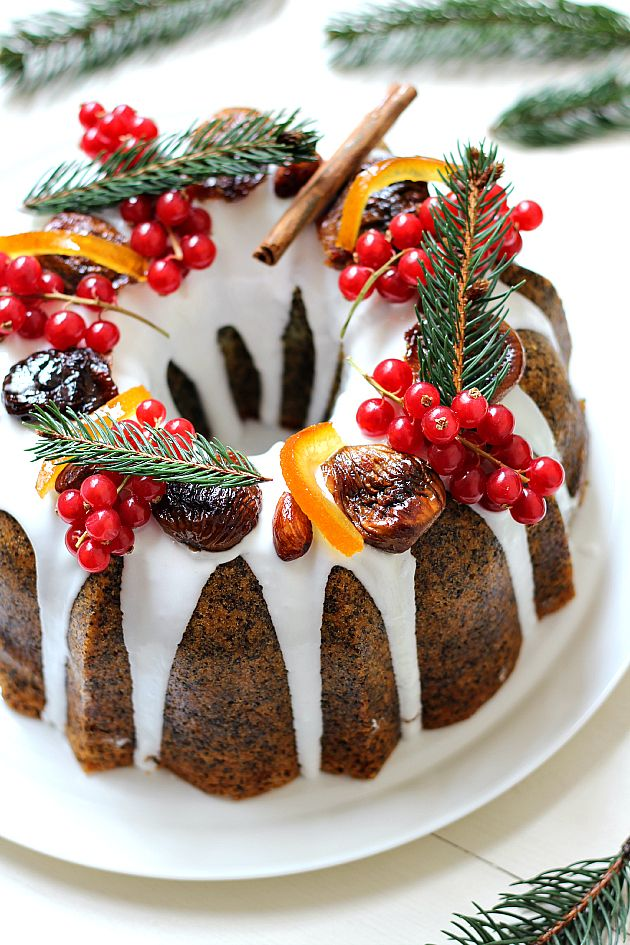 Chiarapassion: Poppy Seed Citrus Cake - christmas bundt cake  recipe