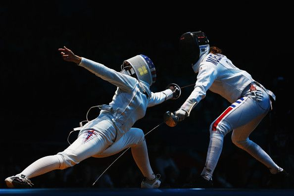 olympics fencing | Olympics Day 8 - Fencing - Pictures - Zimbio