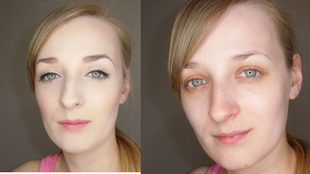 JaŚniutka   makijaż, recenzje : Makijaż dzienny