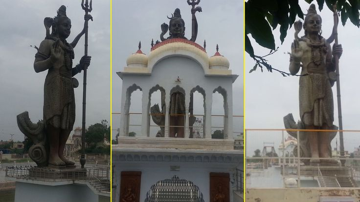 India's Largest Towering Statue of Lord Shiva at Pilani, RAJASTHAN - Vid...