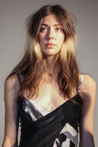 Caroline Polachek in Tess Giberson - Presentation - Fall 2013 Mercedes-Benz Fashion Week