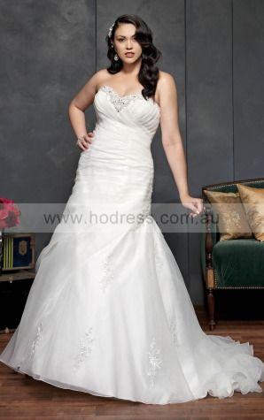 Lace-up A-line Empire Sweetheart Wedding Dresses hdcf1100--Hodress