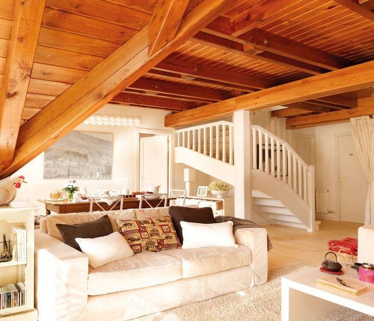 Душевный горный дом для всей семьи | Пуфик - блог о дизайне интерьера