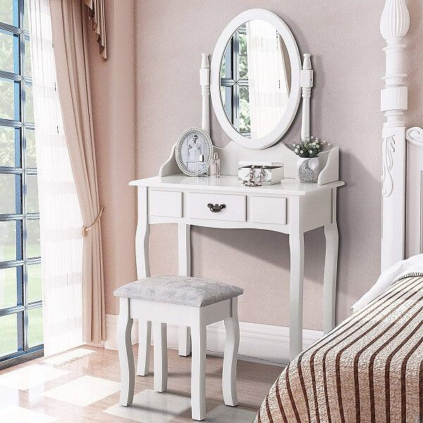 Best Gifts For 12 Year Old Girls Vanity Table Set Dressing Table Desk White Dressing Tables