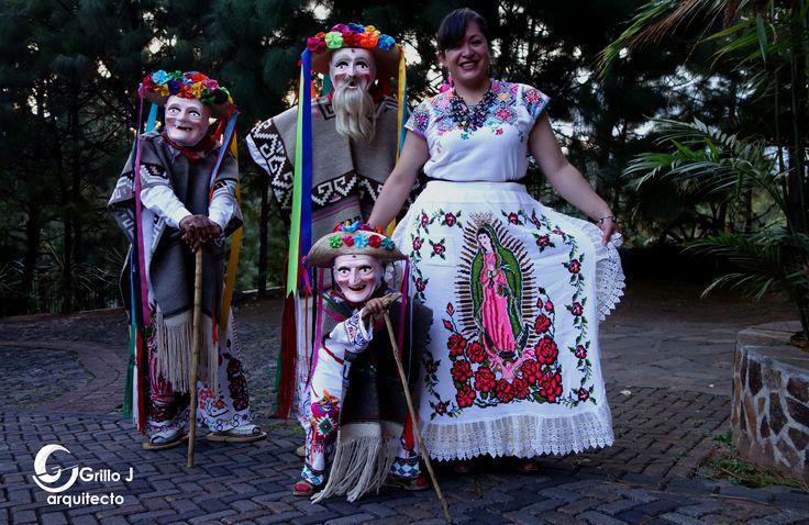 Danza de los Viejitos, P'urhépecha, Uruapan, Michoacán
