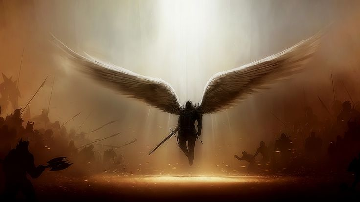 Male Angel Warriors | Found this amazing incredible powerful photo and had to share this ...