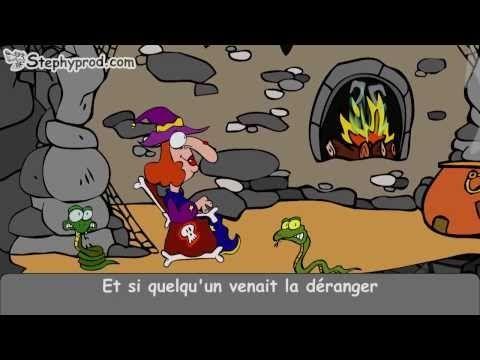 ▶ Dessin animé Le Rock de la Sorcière, pour Halloween ! - YouTube