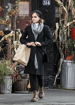 Emma Watson out and about in New York City on November 28, 2016