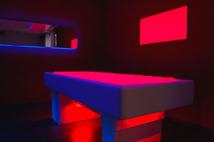 Spot - Light panel for chromotherapy