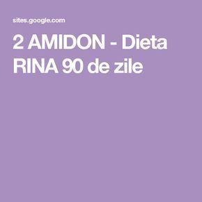 2 AMIDON - Dieta RINA 90 de zile