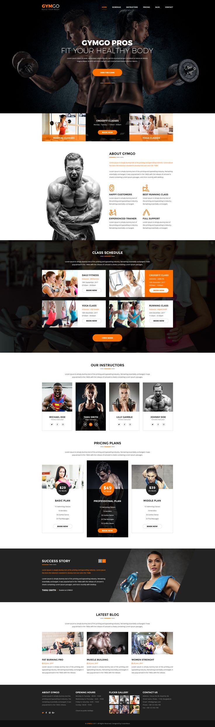 GYMGO-Gym & Fitness PSD Template #personal trainer #weight lifting #weight loss • Download ➝ https://themeforest.net/item/gymgogym-fitness-psd-template/20923583?ref=pxcr