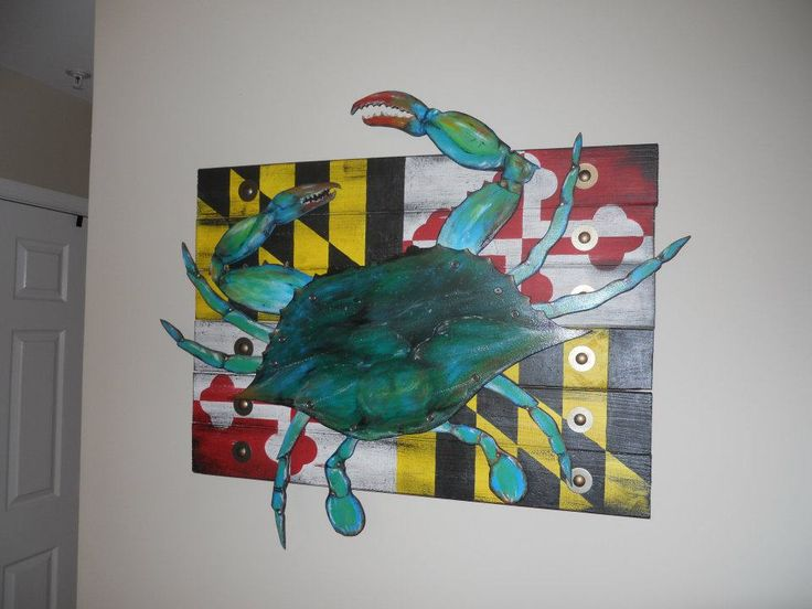 Custom wood MD Crab Flag - reclaimed wood - 30 Best Images About Integrity Wood Design On Pinterest Ohio