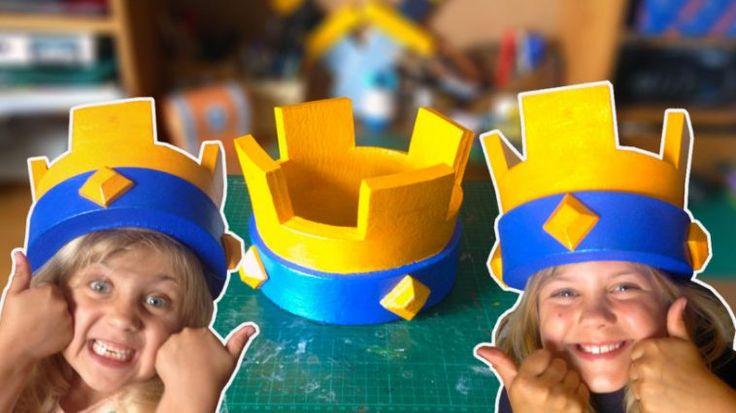 Crea tu corona del rey y otras curiosidades más • Clash Royal Latino